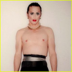 James Franco: Shirtless Drag Queen for 'Rebel' Exhibit!