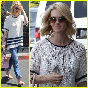 January Jones: Beverly Hills Beauty