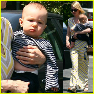 January Jones & Xander: Sunday Lunch!
