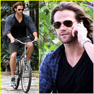 Jared Padalecki Bikes in Brazil