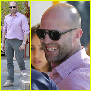 Jason Statham: Drinks at Le Petit Bistro