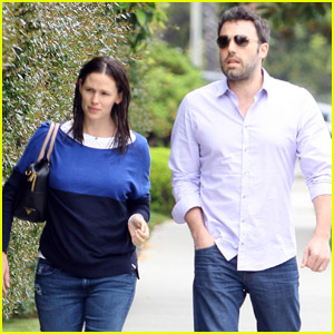 Jennifer Garner & Ben Affleck: School Meeting