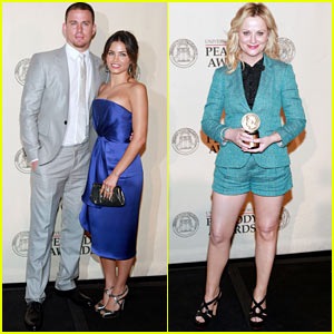 Channing Tatum & Jenna Dewan: Peabody Award Winners!
