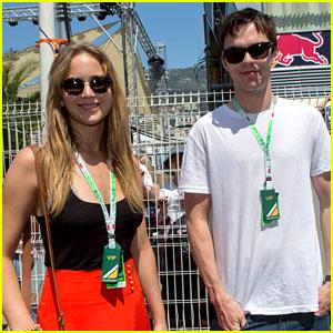 Jennifer Lawrence & Nicholas Hoult: Monte Carlo Grand Prix!