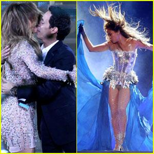 Jennifer Lopez & Marc Anthony: Q'Viva Debut!
