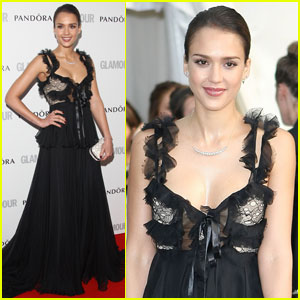 Jessica Alba: 'Glamour' Women of the Year Awards 2012