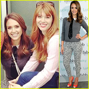 Jessica Alba is Lucky Mag Fab!