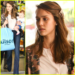Jessica Alba: Kitson Kids with Honor and Haven!