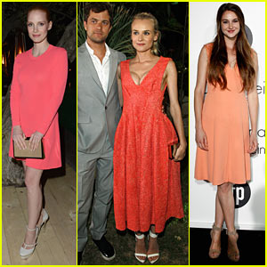 Diane Kruger & Jessica Chastain: Women In Film 'Cannes' Party!