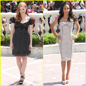 Jessica Chastain & Jada Pinkett Smith: 'Madagascar 3' in Cannes!