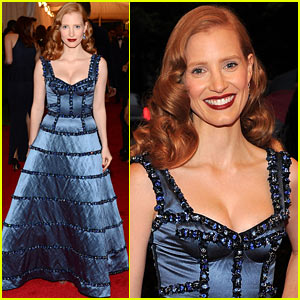 Jessica Chastain - Met Ball 2012