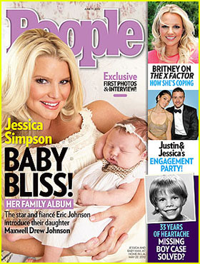 Jessica Simpson: Baby Maxwell's First Pic!