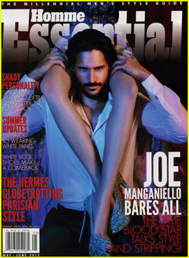 Joe Manganiello Covers 'Essential Homme' May/June 2012