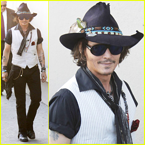 Johnny Depp: 'Jimmy Kimmel Live!' Visit