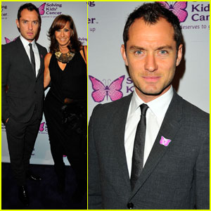 Jude Law: Solving Kids' Cancer Spring Celebration