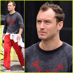 Jude Law: Mid-Week Workout