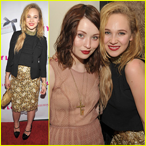 Juno Temple & Emily Browning: 'Nylon' Party!
