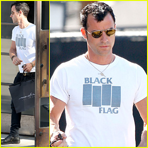 Justin Theroux: Maxfield Shopper!