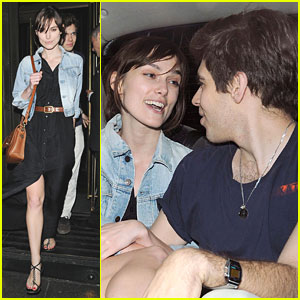 Keira Knightley & Fiance James Righton Dine at Wolseley