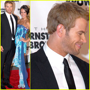 Kellan Lutz & Sharni Vinson: In Love at the Kentucky Derby!
