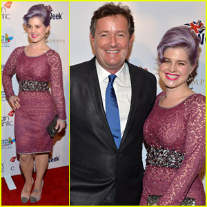 Kelly Osbourne: BritWeek's Evening with Piers Morgan!