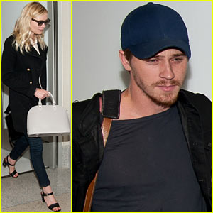 Kirsten Dunst &#038; Garrett Hedlund: See Ya Later, L.A.!