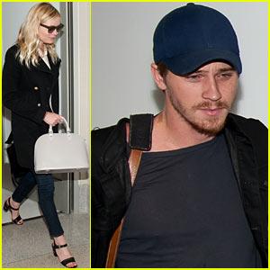 Kirsten Dunst & Garrett Hedlund: See Ya Later, L.A.!