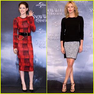 Charlize Theron & Kristen Stewart: 'Snow White' in Berlin!