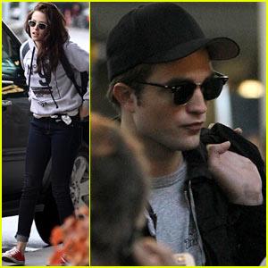 Kristen Stewart & Robert Pattinson: See Ya, Canada!