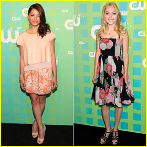 Kristin Kreuk &#038; AnnaSophia Robb: CW Upfront!