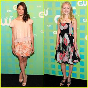 Kristin Kreuk & AnnaSophia Robb: CW Upfront!