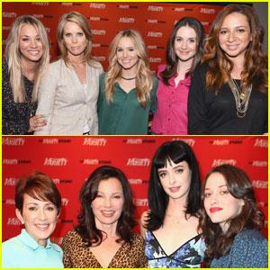 Kristen Bell & Krysten Ritter: 'Variety' Emmy Studio!