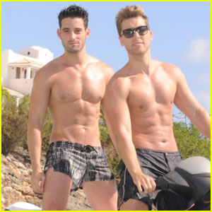 Lance Bass: Shirtless Birthday in St. Martin!