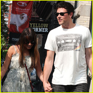 Lea Michele & Cory Monteith: PDA in NYC!