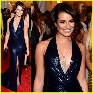 Lea Michele - Met Ball 2012