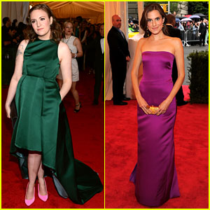 Lena Dunham & Allison Williams: 'Girls' at Met Ball 2012!