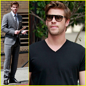 Liam Hemsworth: 'Men's Health' Shoot!