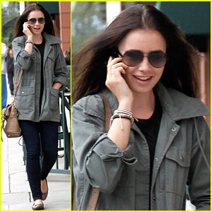 Lily Collins: Doctor Office Visit