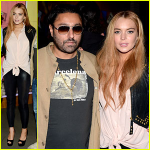 Lindsay Lohan: 'Life is a Dream' with Vikram Chatwal!