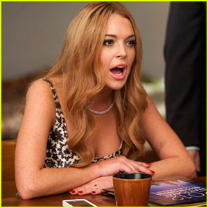 Lindsay Lohan on 'Glee' - First Look!