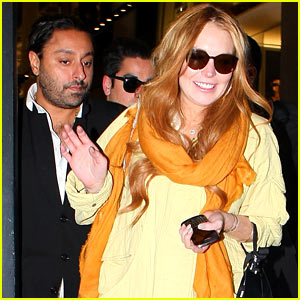 Lindsay Lohan: Shopping Spree with Vikram Chatwal!