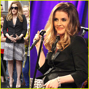 Alex Pettyfer & Riley Keough: 'American Idol' Visit For Lisa Marie Presley!