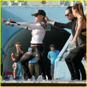 Madonna: MDNA Rehearsal in Tel Aviv!