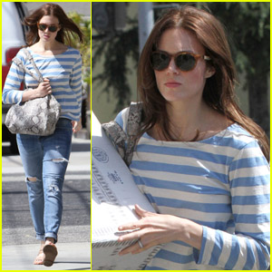 Mandy Moore: Box Brothers Shopping!