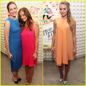 Mandy Moore & Kristen Bell: 'City of Style' Release Party!