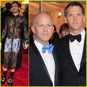 Marc Jacobs & Ryan Murphy - Met Ball 2012