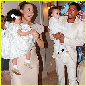Mariah Carey: Twins' Birthday Bash in Paris!