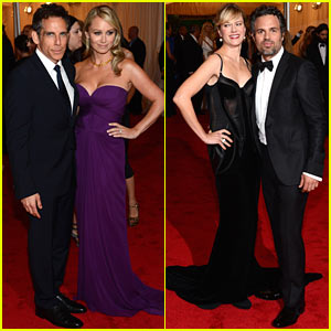 Mark Ruffalo & Ben Stiller - Met Ball 2012