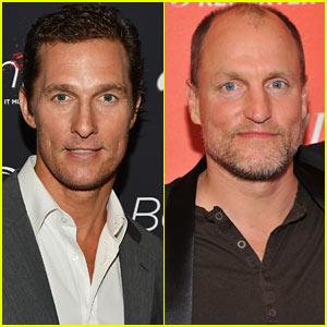 Matthew McConaughey & Woody Harrelson Are 'True Detectives'