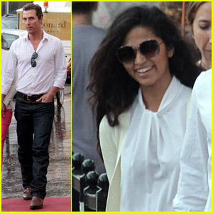 Matthew McConaughey & Camila Alves: Sunday in Cannes